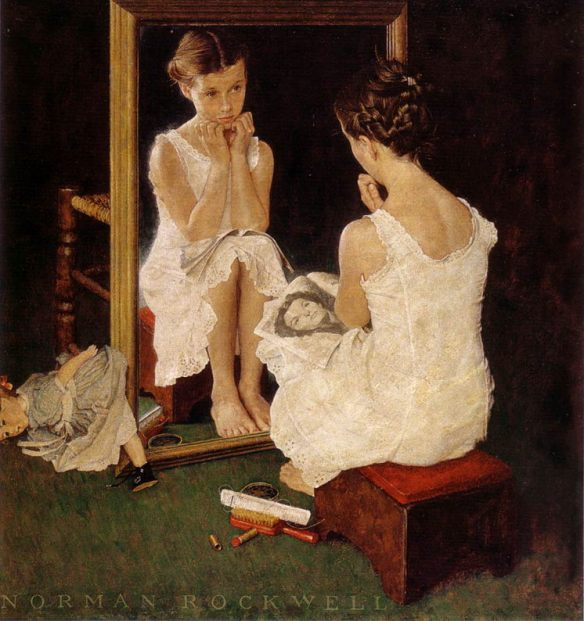 Norman Rockwell, Mirror