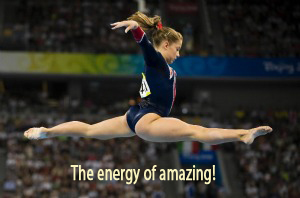 The energy of amazing